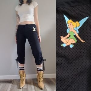 90s Vintage Tinkerbell Mesh Lounge Pant Joggers